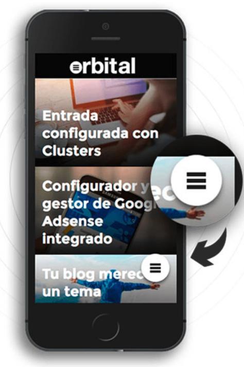 El Orbital Menú mejora el SEO en móvil