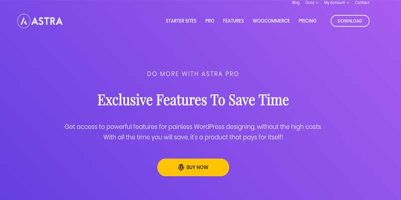 Astra Theme Plantilla WordPress