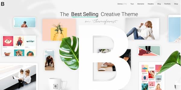 Las mejores plantillas de WordPress Premium: Bridge Theme