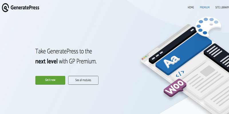GeneratePress Mejores Plantillas de WordPress