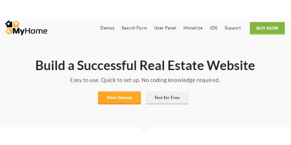 Las mejores plantillas de WordPress Premium: my home