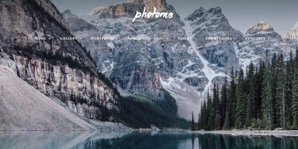 Las mejores plantillas de WordPress Premium: Photo Me