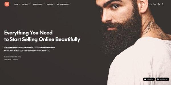 Las mejores plantillas de WordPress Premium: Shopkeeper