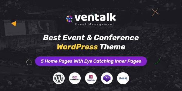 Las mejores plantillas de WordPress Premium: eventalk