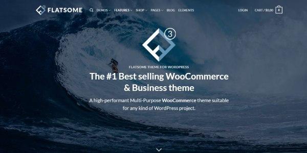 Las mejores plantillas de WordPress Premium: Flatsome