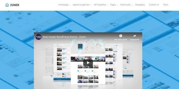 Las mejores plantillas de WordPress Premium: zoner