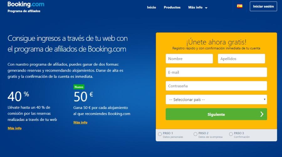 booking afiliados