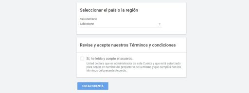 crear cuenta google adsense