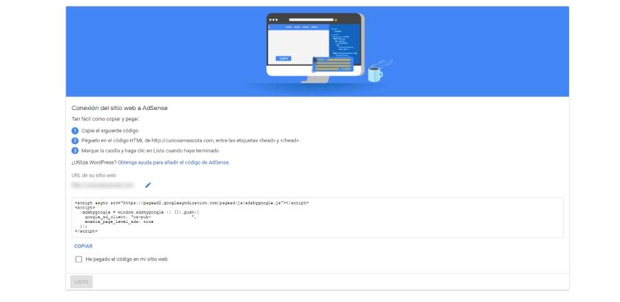 cuenta adsense google