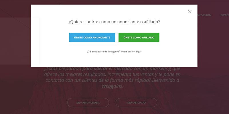 webgains españa